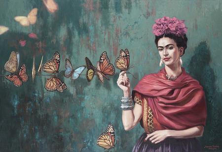 Obraz Frida Kahlo, Joanna Sierko-Filipowska DAGMA ART