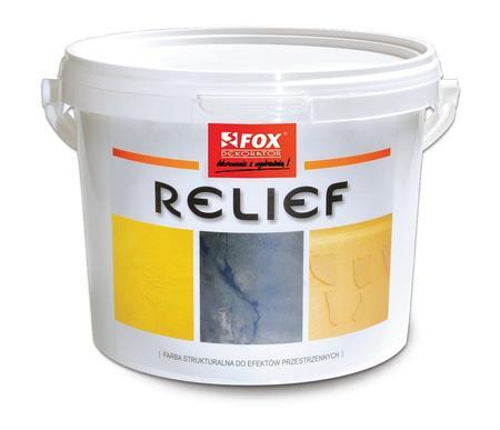 Farba akrylowa strukturalna Relief FOX
