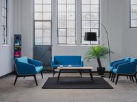 Nowa kolekcja mebli Tomasza Augustyniaka dla Marbet Style. Sofy, fotele, stoliki do przestrzeni publicznych