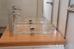 Umywalki ze szkła GLASIMO
