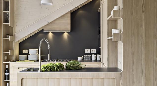 Jak urządzić wnętrze, by mała kuchnia w bloku była funkc   -> Kuchnie W Bloku Jak Urzadzic