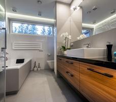 Elegancka i nowoczesna łazienka - styl minimalistyczny