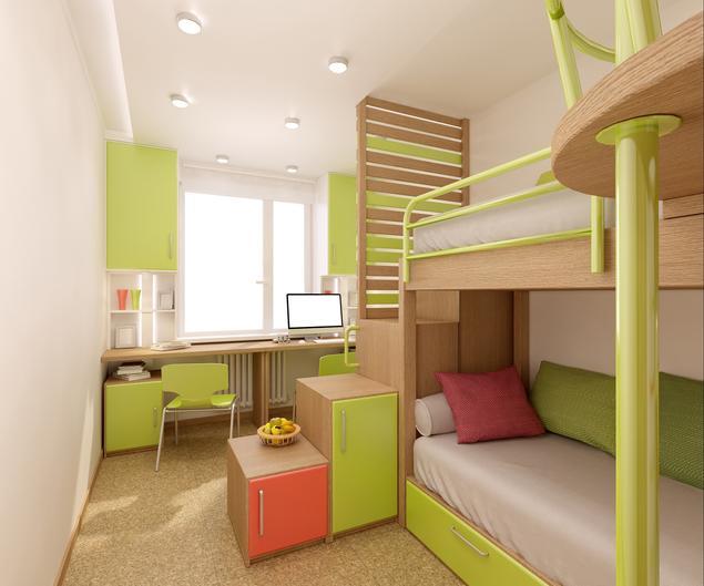Zobacz Galerię Zdjęć Jak Urządzić Mały Pokój Dla Dwójki Dzieci