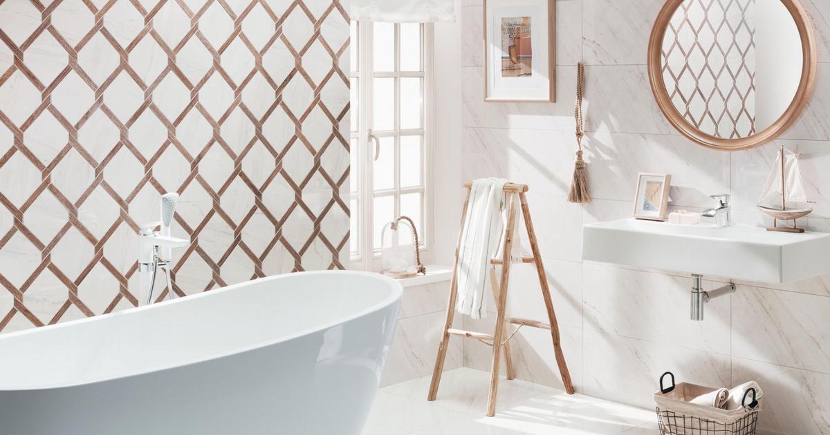 Płytki łazienkowe – pomysł na nowoczesną łazienkę w śród...
